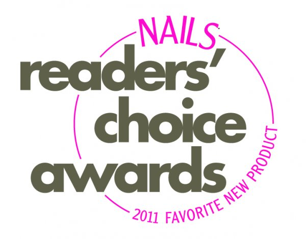 logo nails reader choice award