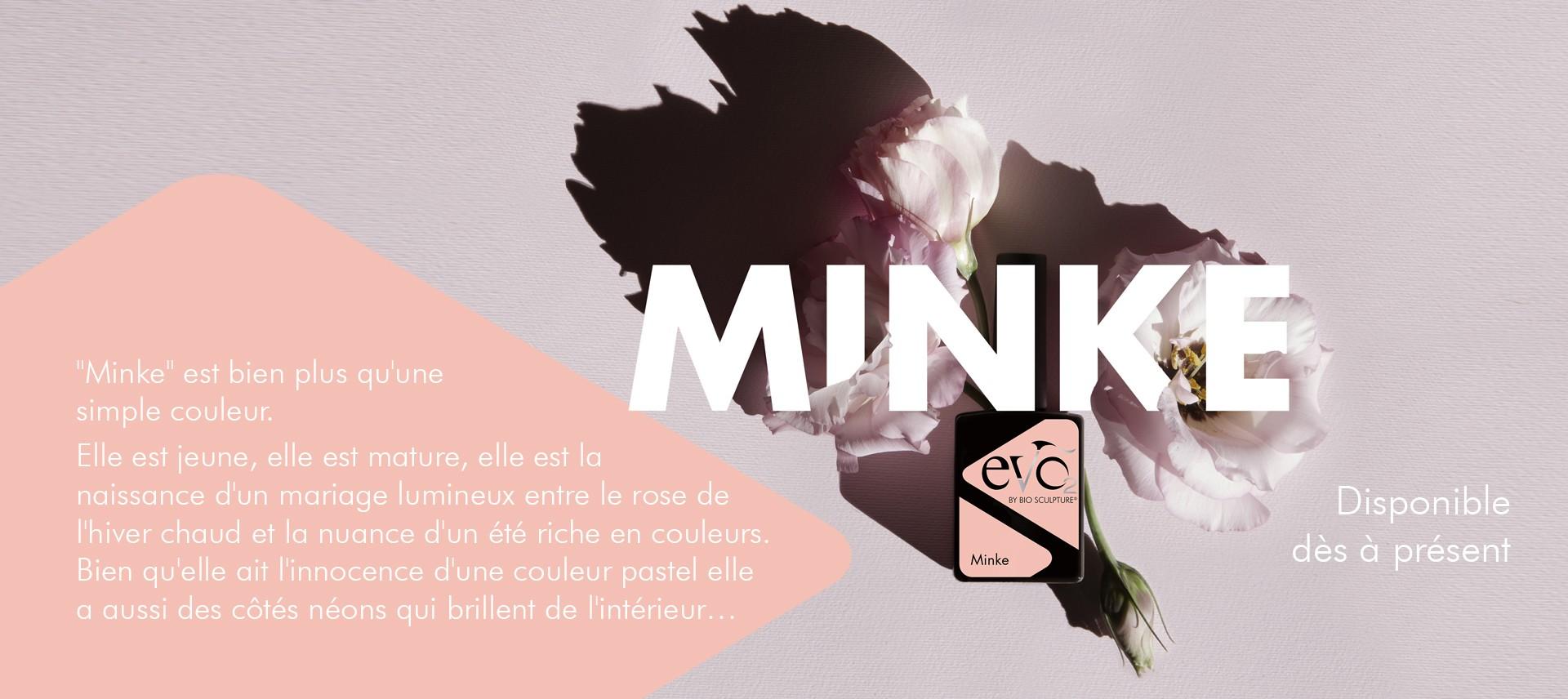 Minke Nouvelle couleur Evo