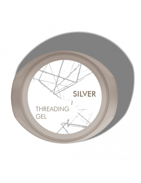 Threading Gel Argent