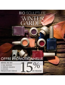 "COFFRET ""MY WINTER COLLECTION BIO GEL & GEMINI"