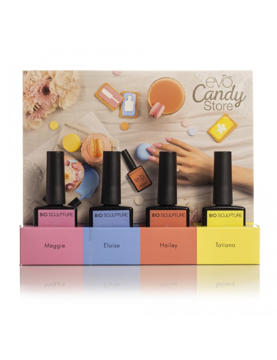 COLLECTION COMPLETE CANDY STORE + PRESENTOIRE